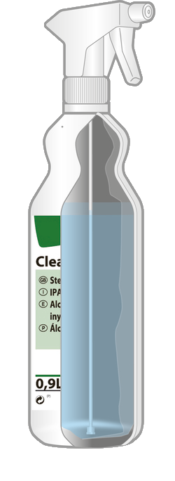 sterile spray for cleanrooms