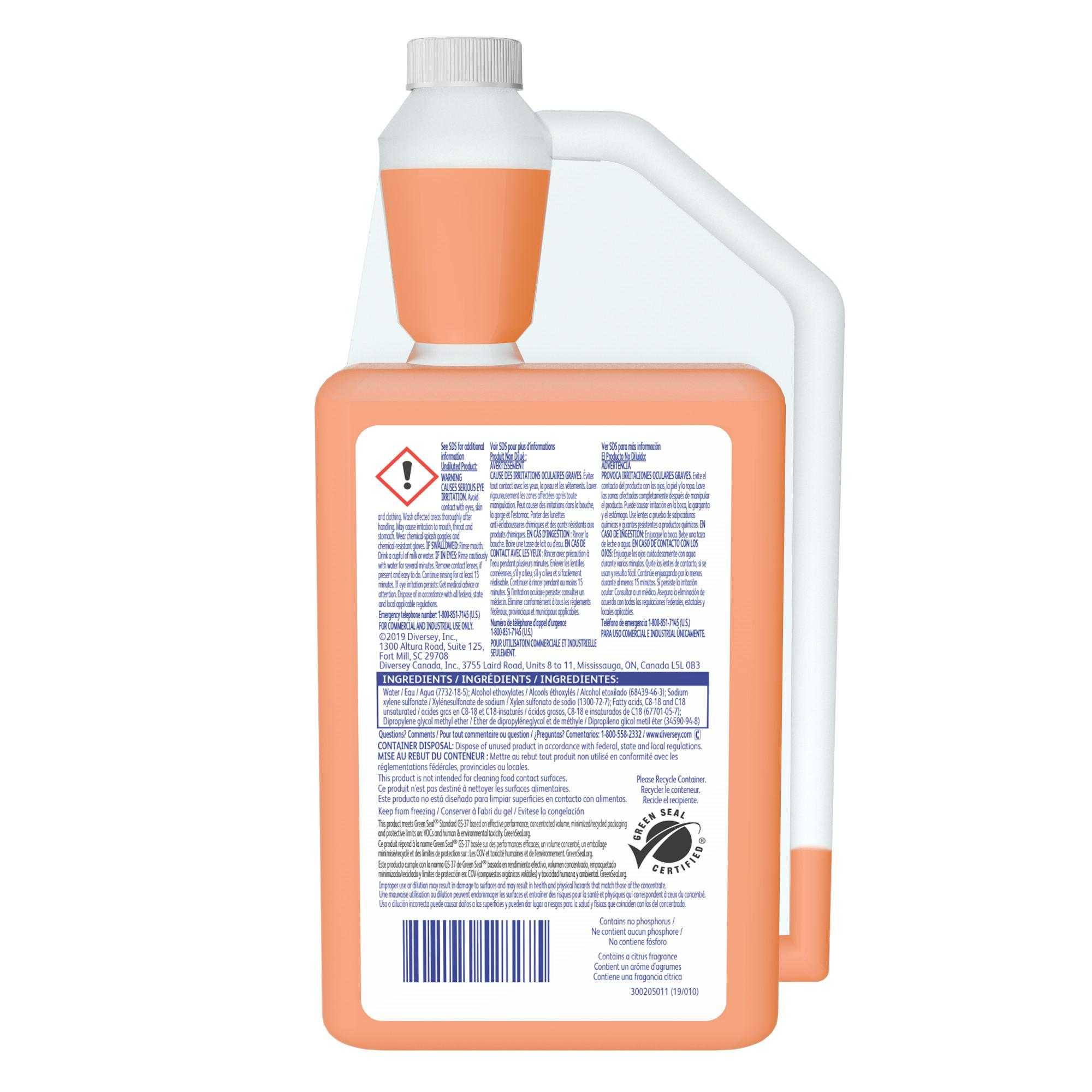 Stride® Citrus SC Neutral Cleaner